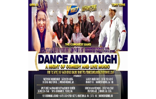 Dance And Laugh- A Night of Comedy and Live Music